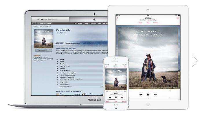 iCloud pone tu contenido en todos tus dispositivos. En todas partes, automáticamente. Al comprar una canción ya no tendrás que descargarla una y otra vez en varios dispositivos. iCloud se ocupa de todo por ti. Así de simple.
