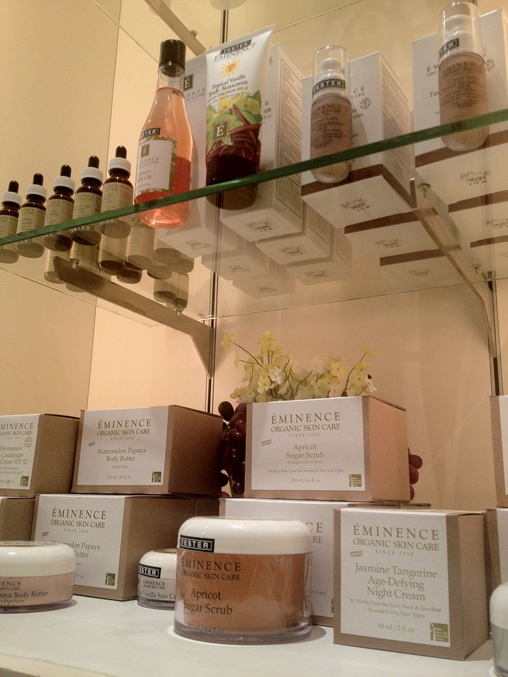 Eminence Organic Skin Care has arrived at The Spa and Spa Boutique!! #natural #spa