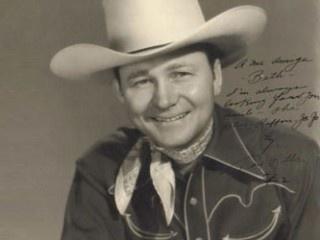 Tex Ritter as cowboy