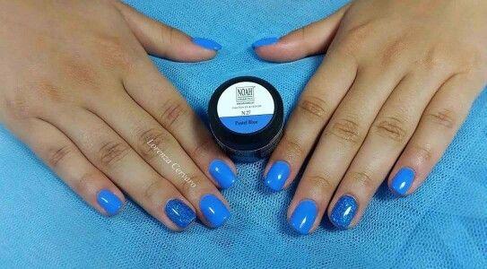 #refill #unghie #nailart #noahcosmetics #gel #nail #fiberglass #square # effetto specchio #colorpaint