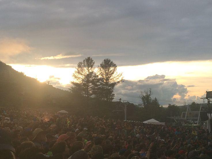Mountain Jam 2015 sunset