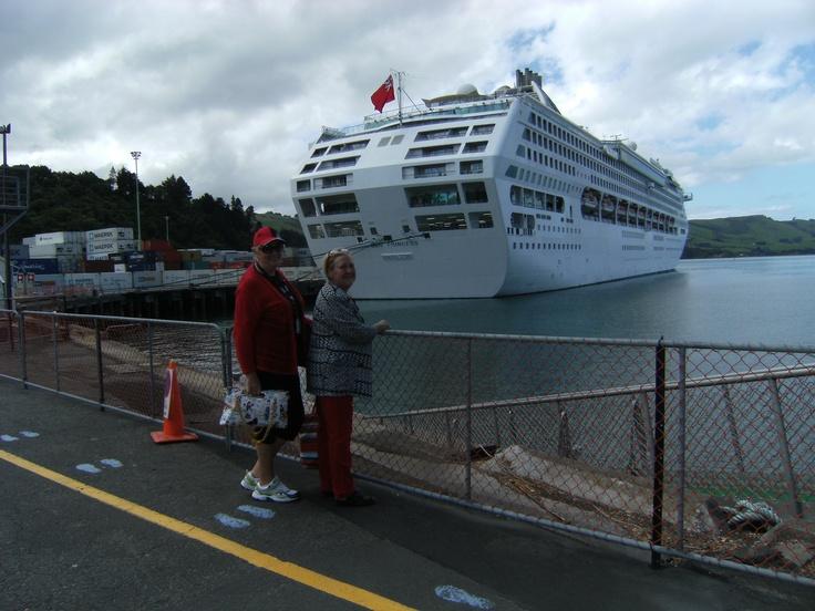Sun Princess in Port Chalmers, NZ