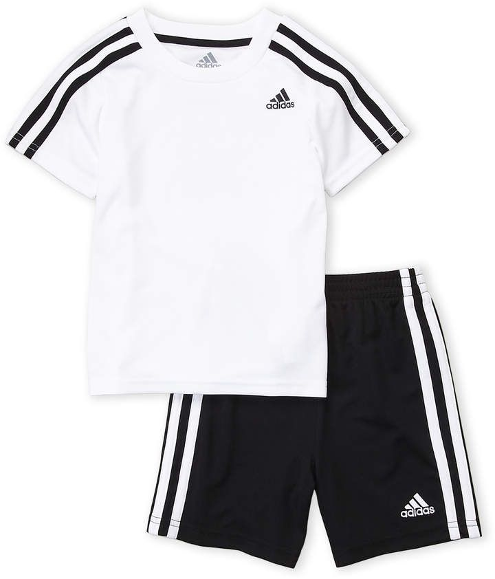 559cd0686 adidas Toddler Boys) Two-Piece Soccer Tee   Shorts Set