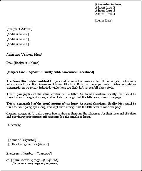 The 25+ best Formal letter format sample ideas on Pinterest - format for letter of reference