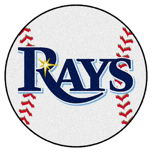 Tampa Bay Rays Baseball Mat