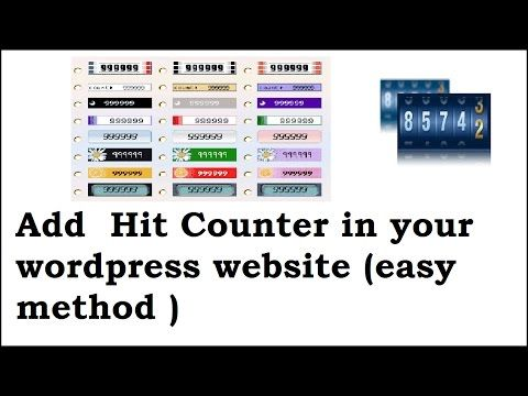 How to add website visitor counter to your wordpress website/blog - https://www.bestfreewordpressplugins.com/how-to-add-website-visitor-counter-to-your-wordpress-websiteblog/