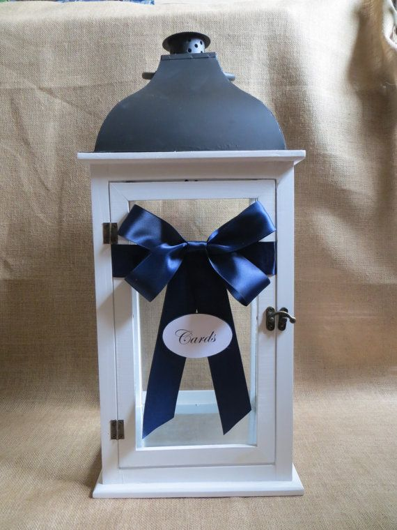 Nautical Wedding Gift Card Holder : Holder, Card Box, Wedding Lantern: Gift Card Boxes, Card Box Wedding ...