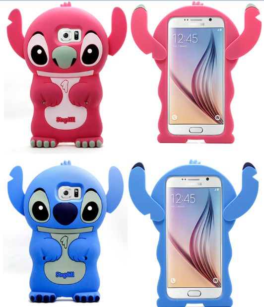 3D Cartoon Samsung Galaxy S6 Stitch Case Cover for Samsung Galaxy S6 - Cartoon Samsung Galaxy S6 Cases - Galaxy S6 Cases - Galaxy S3/4/5/6 Cases
