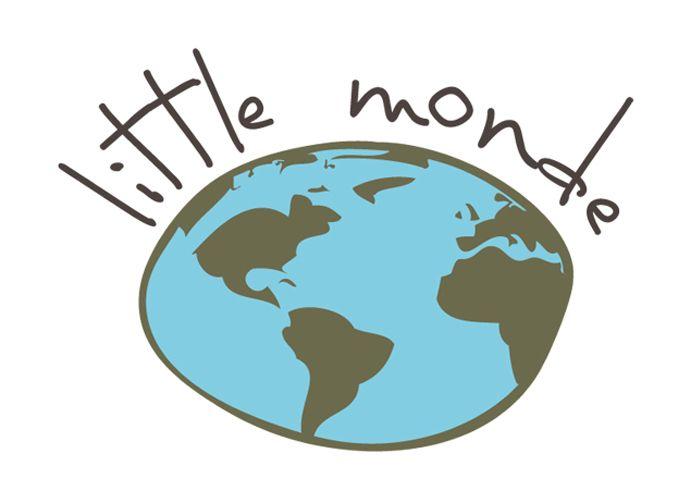 Little monde : projet de logo pour une boutique en ligne de déco pour enfants.