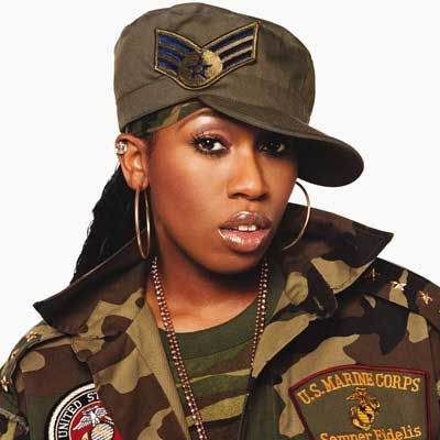 Missy Elliot...She was dope! ;p