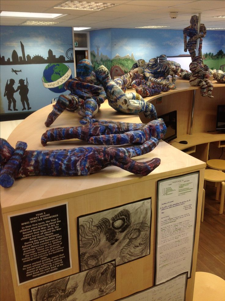 Henry Moore Year 5 project from this year | KS2 Art ...