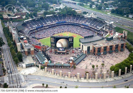 Ted Turner Stadium. Atlanta Braves.