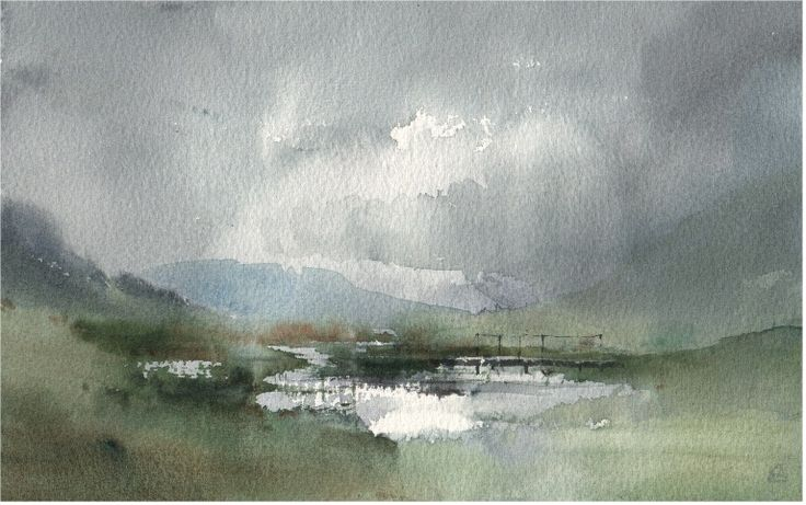 3 Watercolour plein airs - WetCanvas | Chris Robinson ...