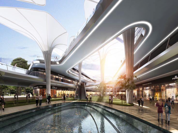 Hengqin Ke Merchants Mixed-use Project | Aedas | Architecture | Mixed-use | Zhuhai, PRC