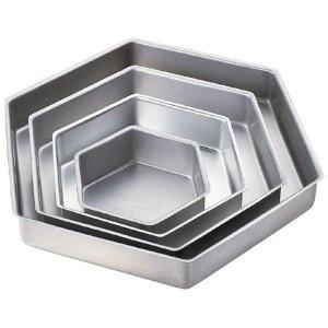 #9: Wilton Performance Pans Hexagon Pan Set