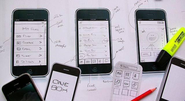 iPhone app wireframes - featured image