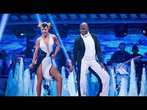 Ainsley Harriott & Natalie Lowe Cha Cha to 'Boogie Wonderland' - Strictly Come Dancing: 2015 - YouTube