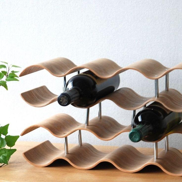 Willow Wine Rack | Timber & Chrome