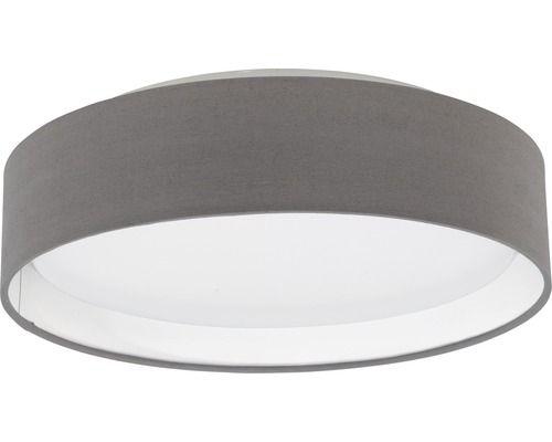 LED Deckenleuchte anthrazit/braun/weiß Pasteri mit Leuchtmittel 1-flammig 1020 lm 3000 K warmweiß Ø 320 mm