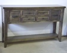 HALL TABLE STAND SIDEBOARD CONSOLE TIMBER 6 DRAWER BAROSSA BRAND NEW 0435344775