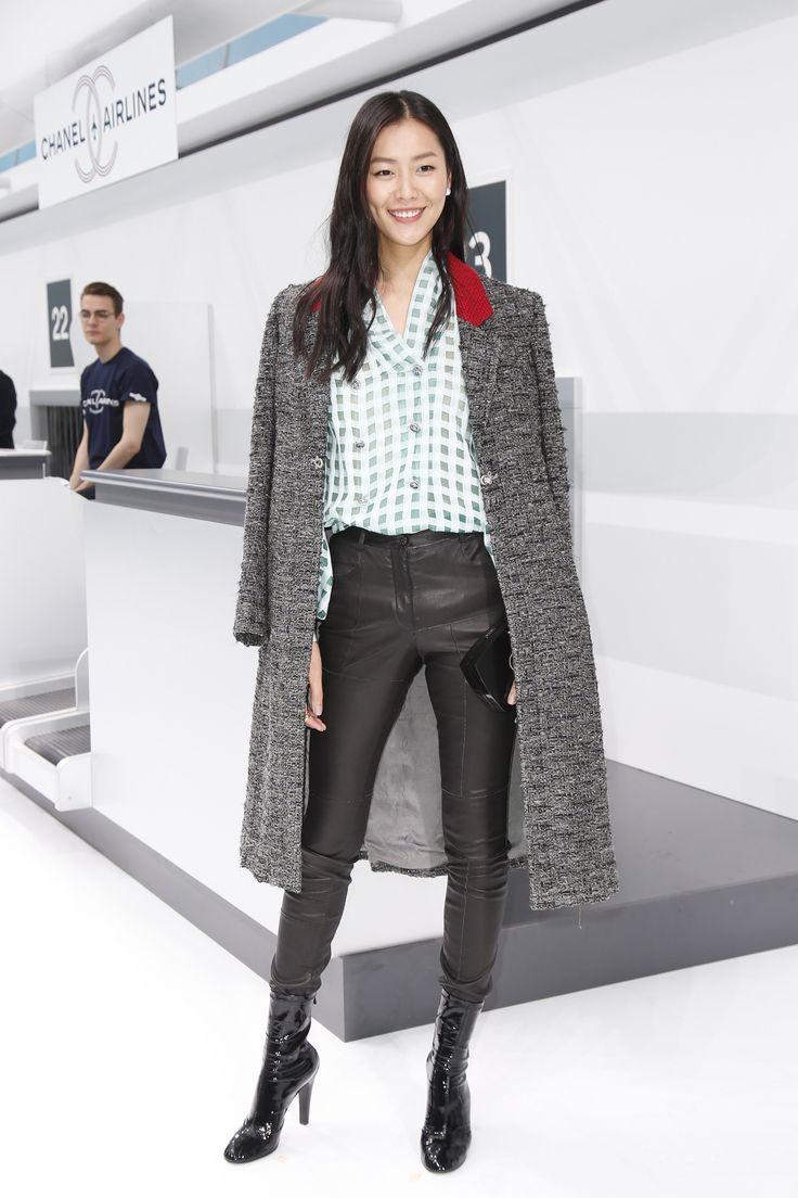 Liu Wen at Chanel Spring 2016
