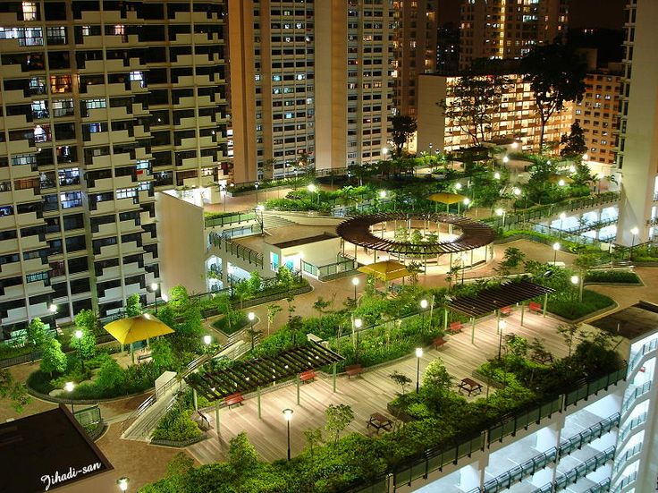 Fabulous #RoofGarden in Singapore skyscrapercity.com #Sustainable Cities  Collective, #Green City