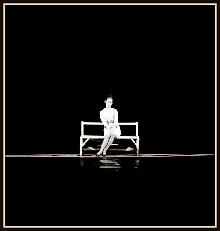 """From the series """" My Bench"""", 1963 . Kansuke Yamamoto, ©Toshio Yamamoto"""