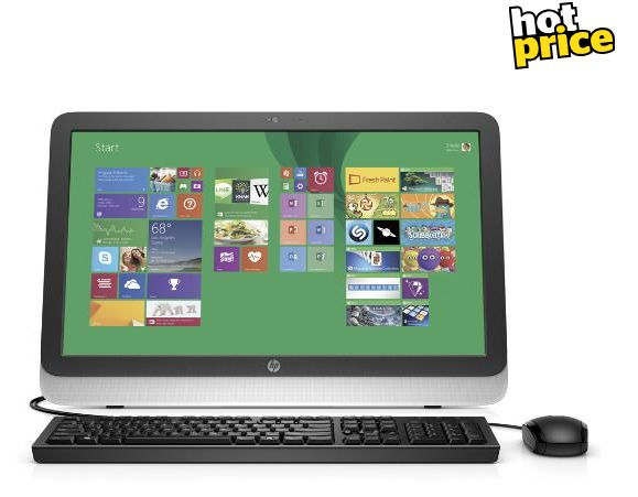 """Noel Leeming Gift Ideas for the Tech Savvy Dad -  HP 23"""" All in One Computer, $799 - save $300!"""