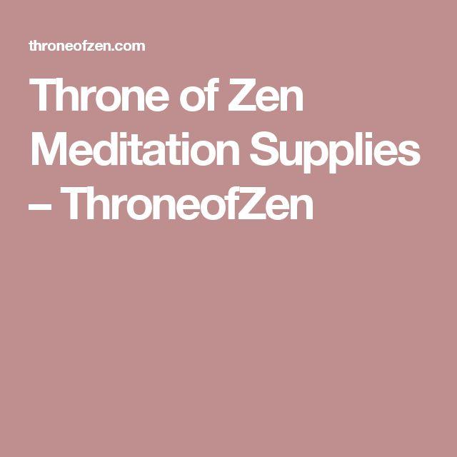 Throne of Zen Meditation Supplies – ThroneofZen