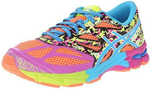 ASICS Gel Noosa Tri 10 GS Triathlon Shoe (Little Kid/Big Kid), Flash Coral/Turquoise/Pink Glow, 1 M US Little Kid - http://www.exercisejoy.com/asics-gel-noosa-tri-10-gs-triathlon-shoe-little-kidbig-kid-flash-coralturquoisepink-glow-1-m-us-little-kid/fitness/