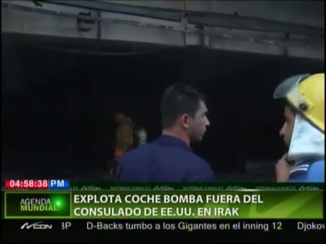 Explota Coche Bomba En La Embajada De EEUU En Irak #Video