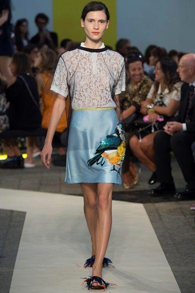Sfilata MSGM Milano - Collezioni Primavera Estate 2015 - Vogue