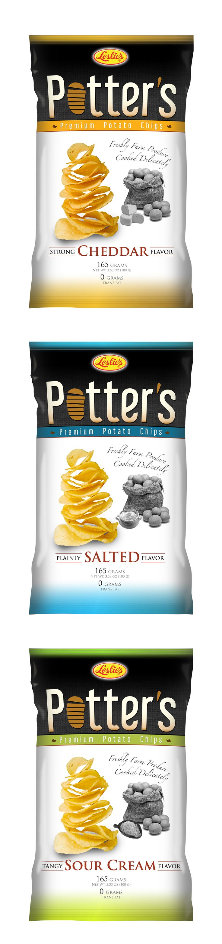 Potato chips packaging design concept (2011) that never made it to the shelves…
