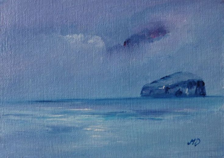 Buy Bass Rock, Acrylic painting by Margaret Denholm on Artfinder. Discover thousands of other original paintings, prints, sculptures and photography from independent artists.