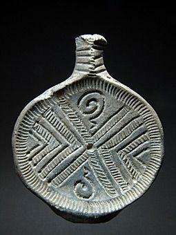 Όστρακο Αρχαία Τέχνη, Ετρούσκων ή Πλάγια αιχμή του δόρατος, Αργά 8ο έως αρχές…
