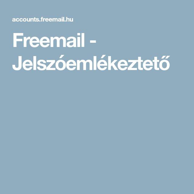 Freemail - Jelszóemlékeztető