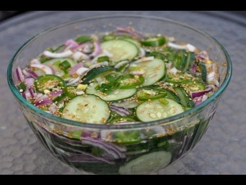 Let's Make Cucumber Salad with Sweet Paul! - YouTube