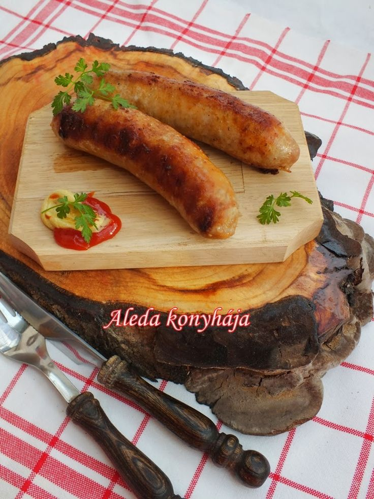 Aleda konyhája: Grillkolbász