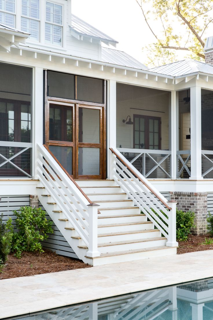 423 best Exterior images on Pinterest   Beach front homes, Beach ...