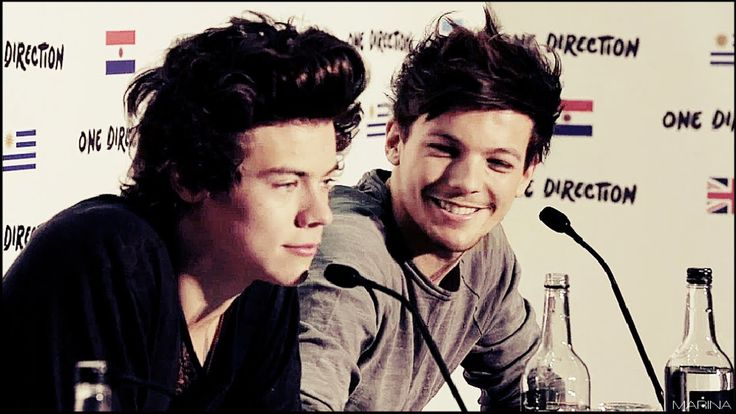 """EVERY LARRY SHIPPER NEEDS TO SEE THIS ! OMFG I'M CRYING  The part where the interviewer goes """"who's standing next to you?"""" is sooo beautiful"""