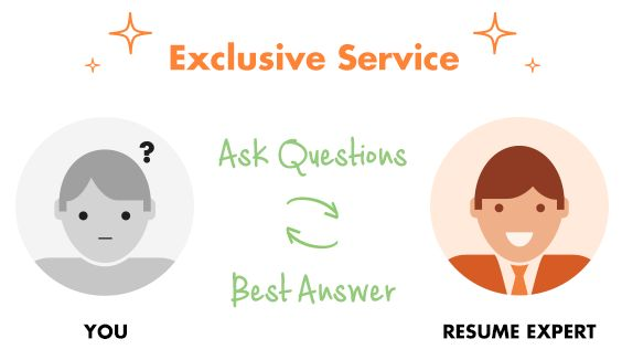 Resume Genius exclusive service - ask an expert