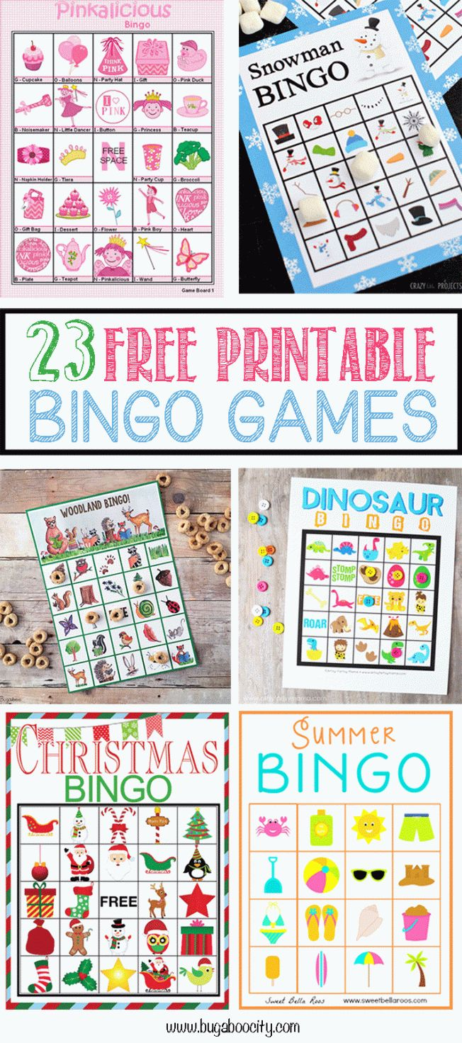 Free coloring pages for the elderly - 23 Free Printable Bingo Games