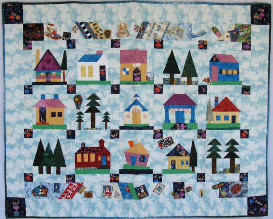 1029 best HOUSE QUILTS 2 images on Pinterest | Quilt block ... : house quilt patterns - Adamdwight.com