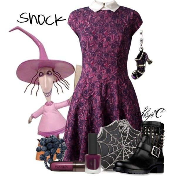 U0026quot;Shock - Disneyu0026#39;s Nightmare Before Christmasu0026quot; By Rubytyra On Polyvore   Disney Inspired Outfits ...