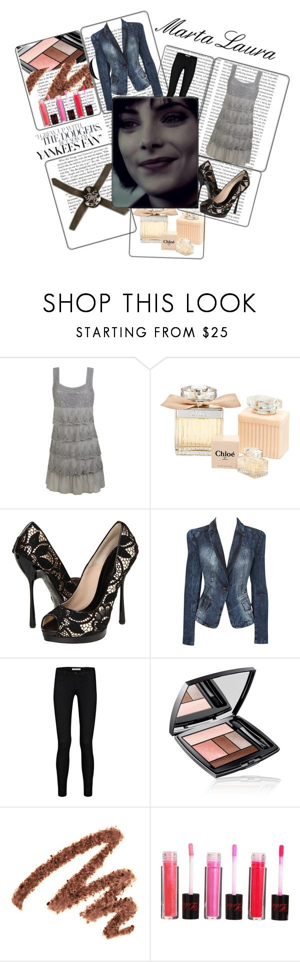 """""""Alice Cullen"""" by firewitch23 ❤ liked on Polyvore featuring Oris, Wet Seal, Chloé, Alexander McQueen, Oasis, J Brand, B. Ella, Lancôme, Yves Saint Laurent and Lola Cosmetics"""