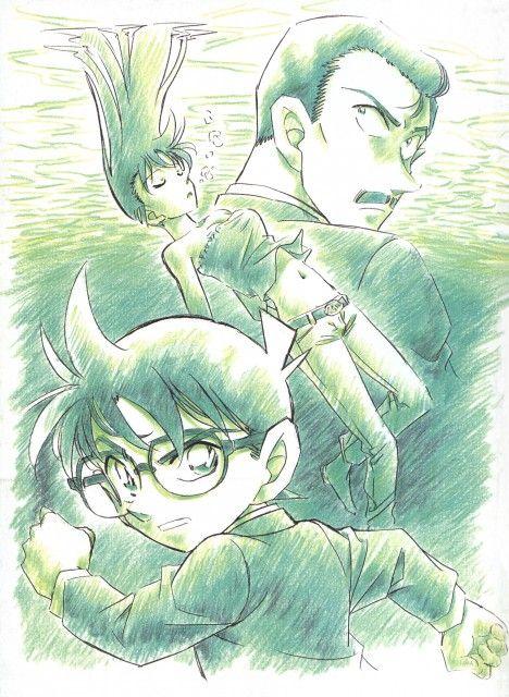 Gosho Aoyama, TMS Entertainment, Detective Conan, Conan Edogawa, Kogoro Mouri