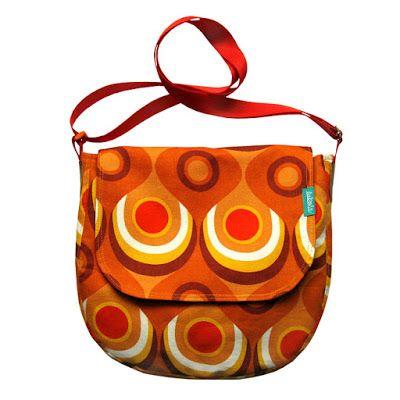 """lukola handmade // Listonoszka """"OKA"""" jako Listonoszka w pomarańczach część 2 // Medium Bag """"EYES"""" as Orange Medium Bag part 2"""