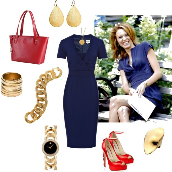 """Sara Ellis"" Style: As Sarah Ellis, ""White Collar"" actor, Hilarie Burton, gets to wear a lot of fabulous, sophisticated outfits. Here's an outfit inspired by a recent episode of the show."