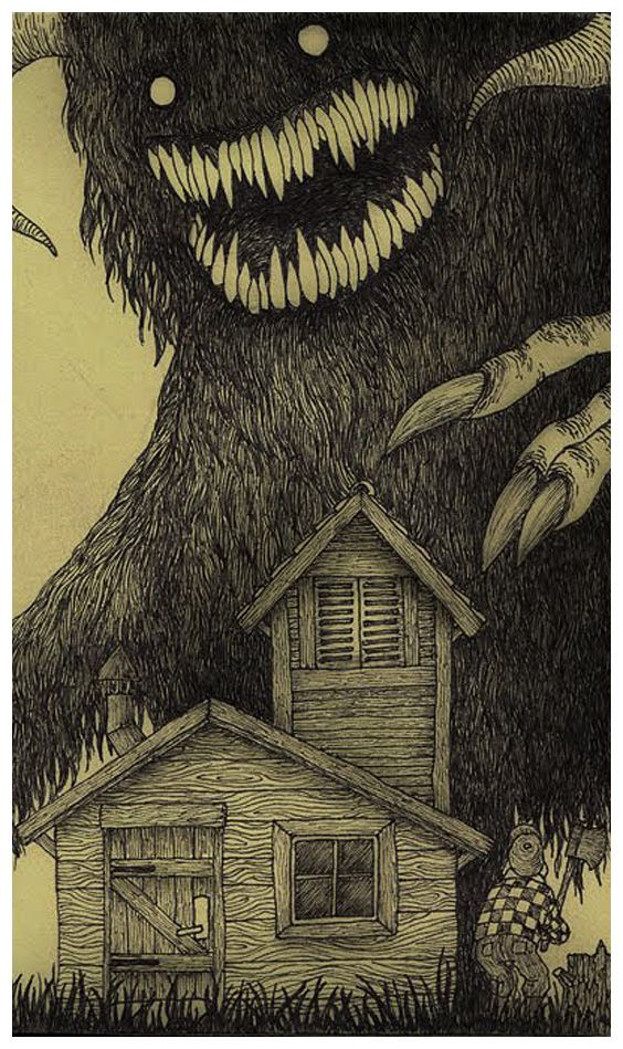 John Kenn Mortenson's Post-It Note monster drawings. These have been posted in book-form in several countries, including Italy and the UK.