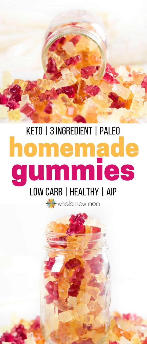 These Homemade Gummies are easy to make and so much healthier than the store bought gummy snacks. Full of good nutrition for gut health and a great protein source too!